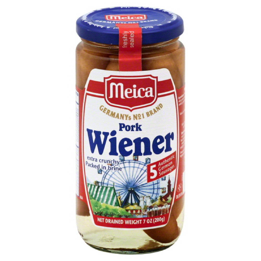 Meica Packed in Brine Extra Crunchy Pork Wiener, 7 Oz (Pack of 12)