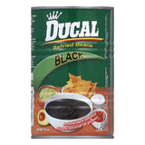 Ducal Black Refried Beans, 15 Oz (Pack of 24)