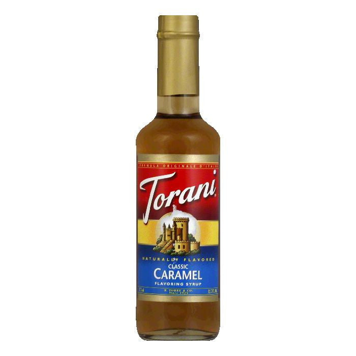 Torani Syrup Caramel, 12.7 FO (Pack of 6)