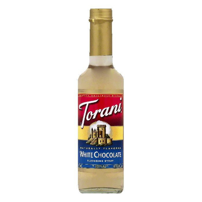 Torani White Chocolate Flavoring Syrup, 12.7 OZ (Pack of 6)