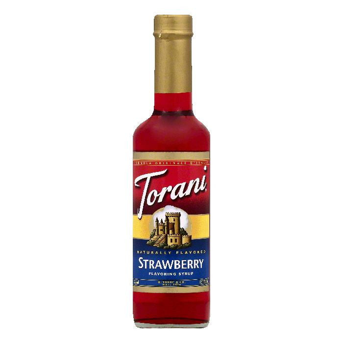 Torani Strawberry Flavoring Syrup, 12.7 OZ (Pack of 6)