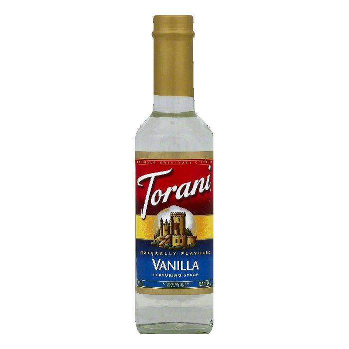 Torani Vanilla Flavoring Syrup, 12.7 OZ (Pack of 6)