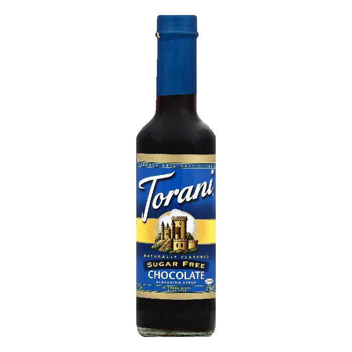 Torani Sugar Free Chocolate Flavoring Syrup, 12.7 OZ (Pack of 6)