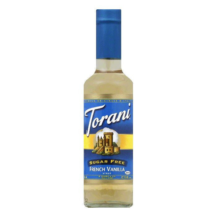 Torani Syrup Sugarfree French Vanilla, 12.7 FO (Pack of 6)