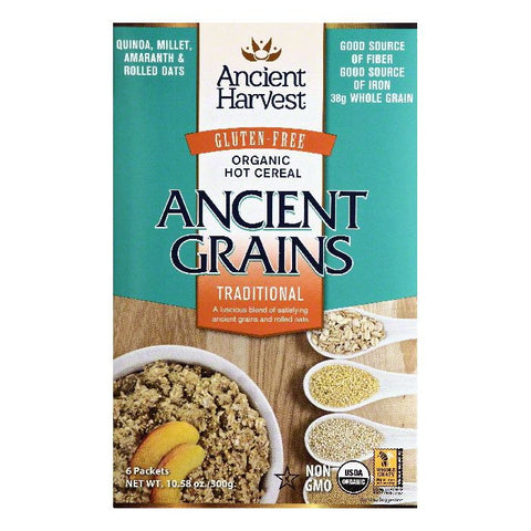 Ancient Harvest Organic Traditional Hot Cereal, 6 ea (Pack of 8)