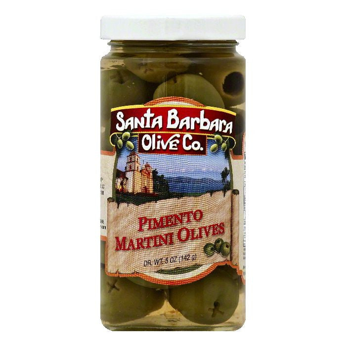 Santa Barbara Pimento Martini Olives, 5 OZ (Pack of 6)