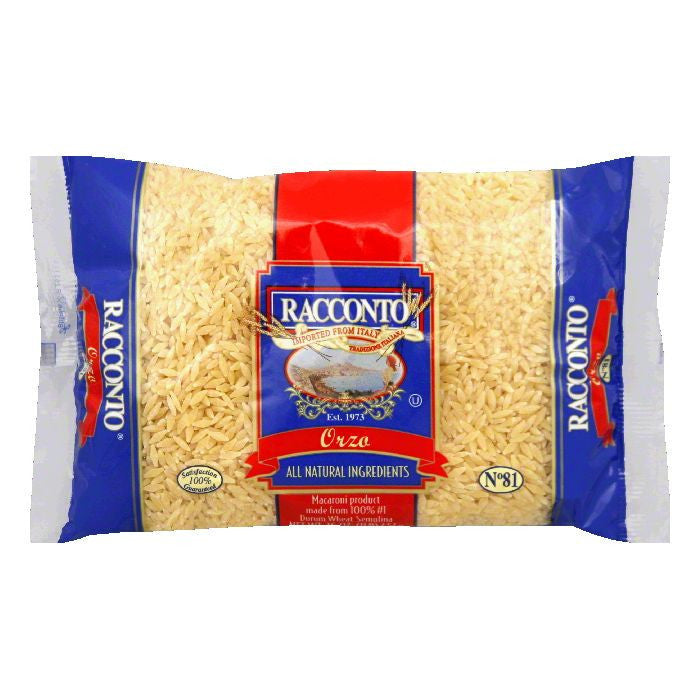 Racconto Soup Mix Orzo Star, 16 OZ (Pack of 20)