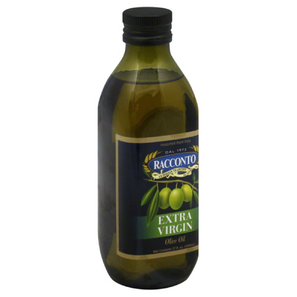 Racconto Extra Virgin Olive Oil, 17 Oz (Pack of 12)