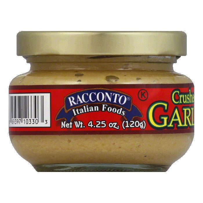Racconto Spread Garlic, 4.25 OZ (Pack of 12)