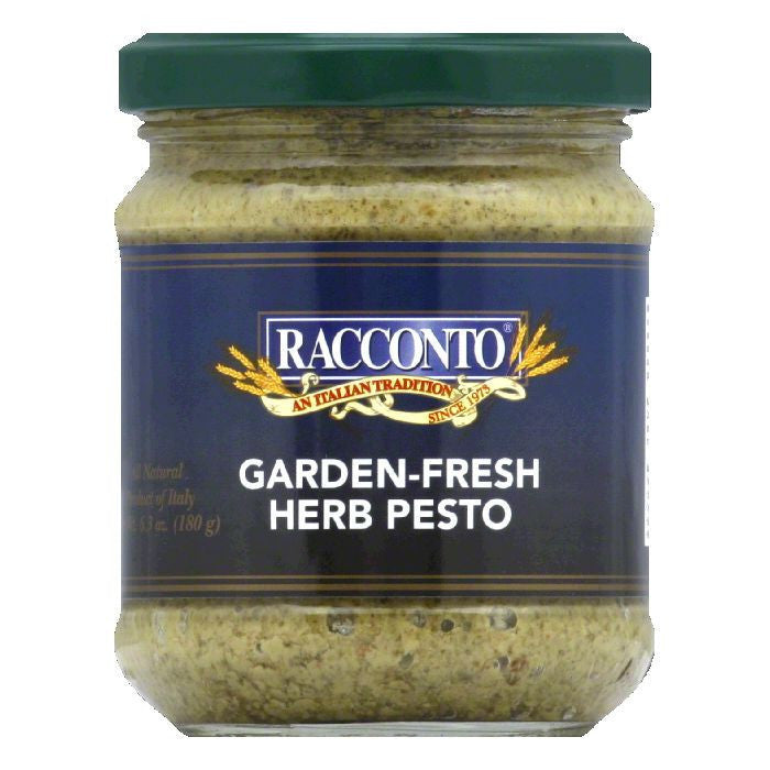 Racconto Pesto Garden Fresh Herb, 6.3 OZ (Pack of 6)