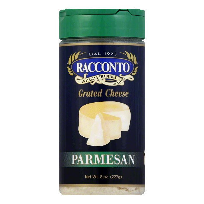 Racconto Cheese Shaker Parmesan, 8 OZ (Pack of 6)