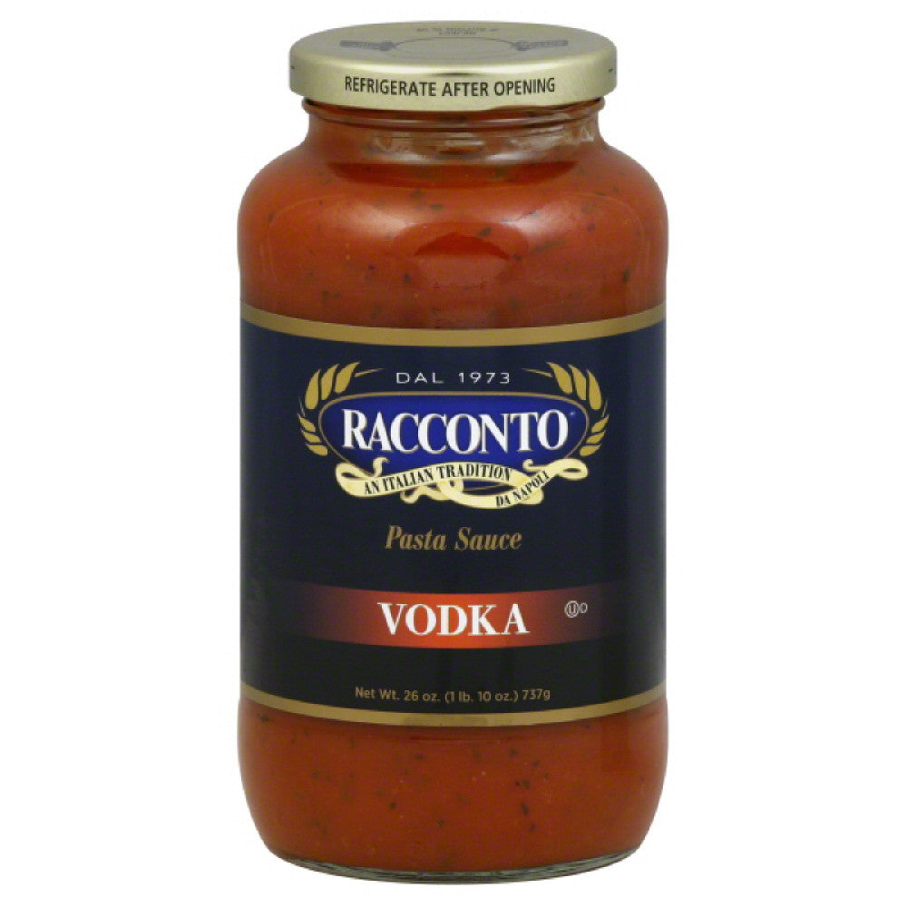 Racconto Vodka Pasta Sauce, 26 Oz (Pack of 12)
