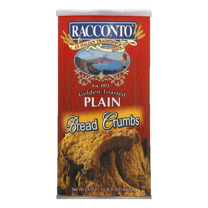 Racconto Breadcrumbs Plain Style, 24 OZ  ( Pack of  6)