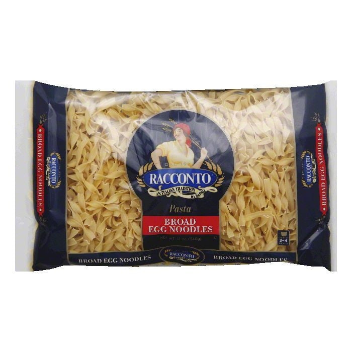 Racconto Broad Egg Noodles, 12 Oz (Pack of 12)
