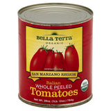 Bella Terra Whole Peeled Italian Tomatoes, 28 Oz (Pack of 12)