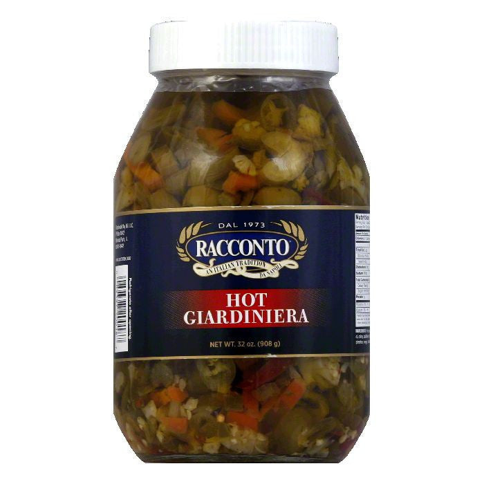 Racconto Giardiniera Hot, 32 OZ (Pack of 12)