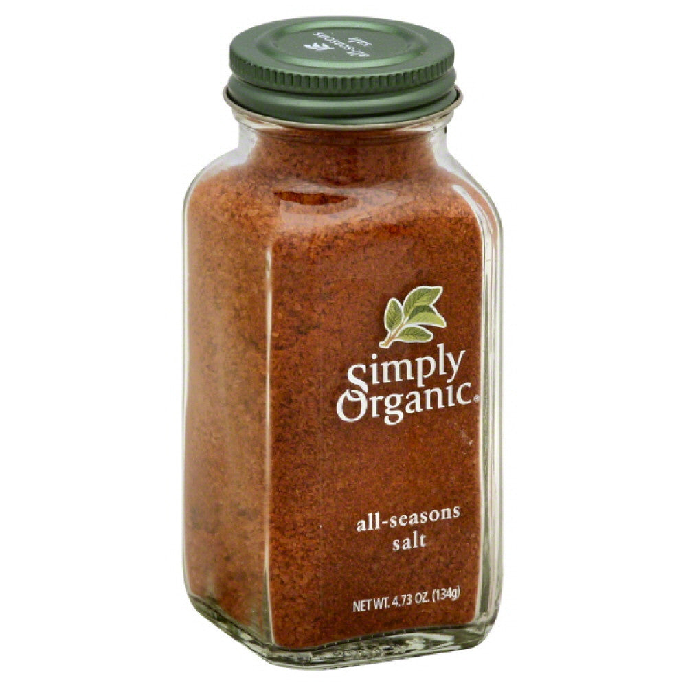 Simply Organic All-Seasons Salt, 4.73 Oz (Pack of 6)