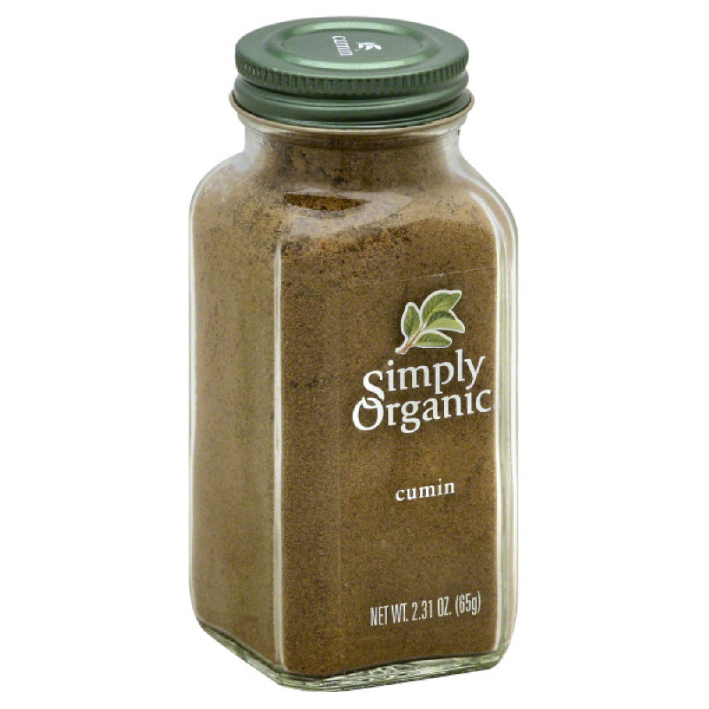 Simply Organic Cumin, 2.31 Oz (Pack of 6)