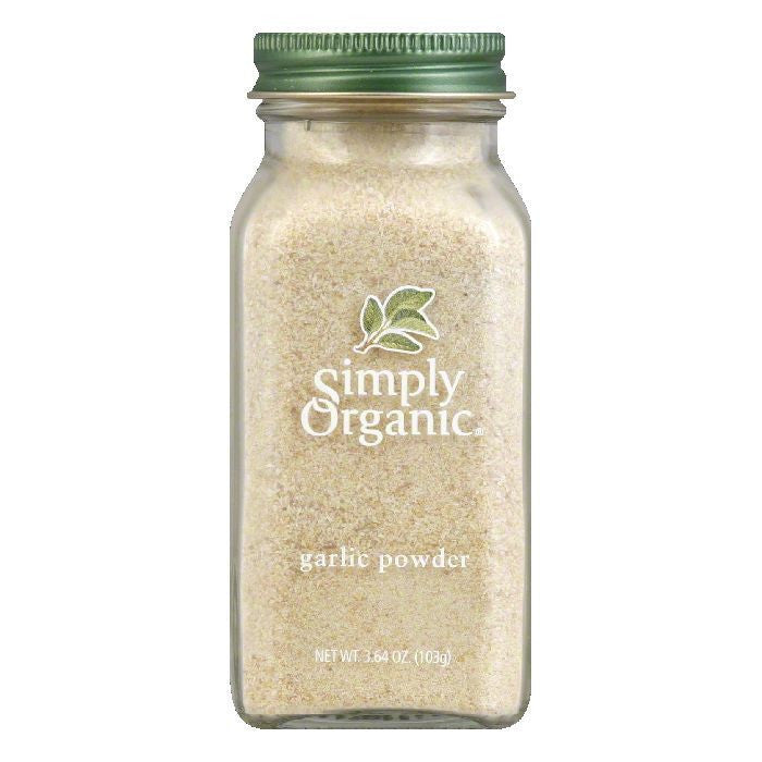 Simply Organic Garlic Powder Organic, 3.64 OZ (Pack of 6)