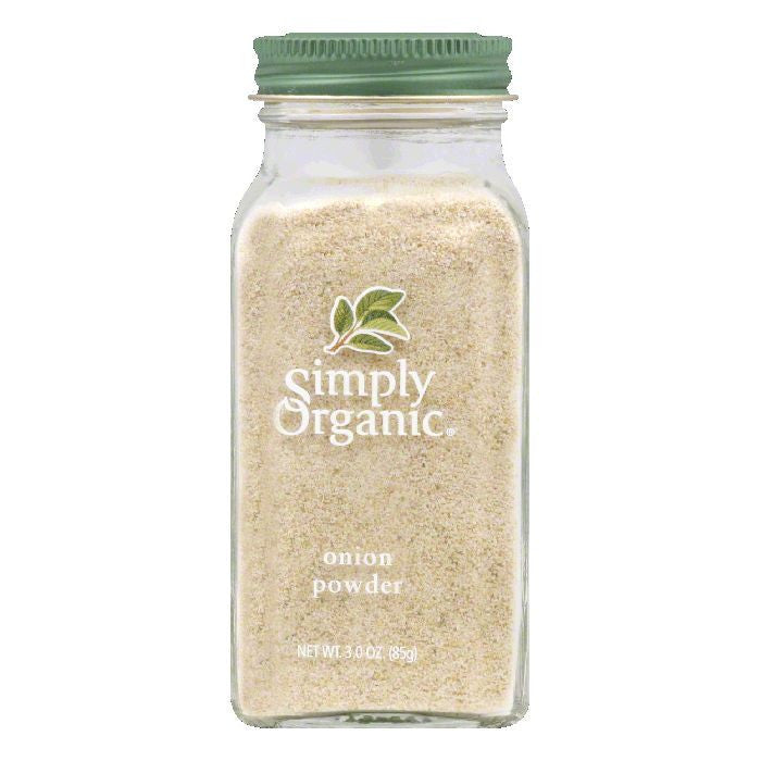 Simply Organic Spanish Onion Powder Certified Organic, 3 OZ (Pack of 6)