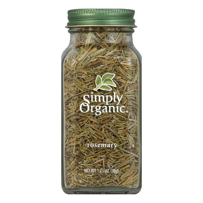 Simply Organic Rosemary Leaves Certified Organic, 1.11 OZ (Pack of 6)