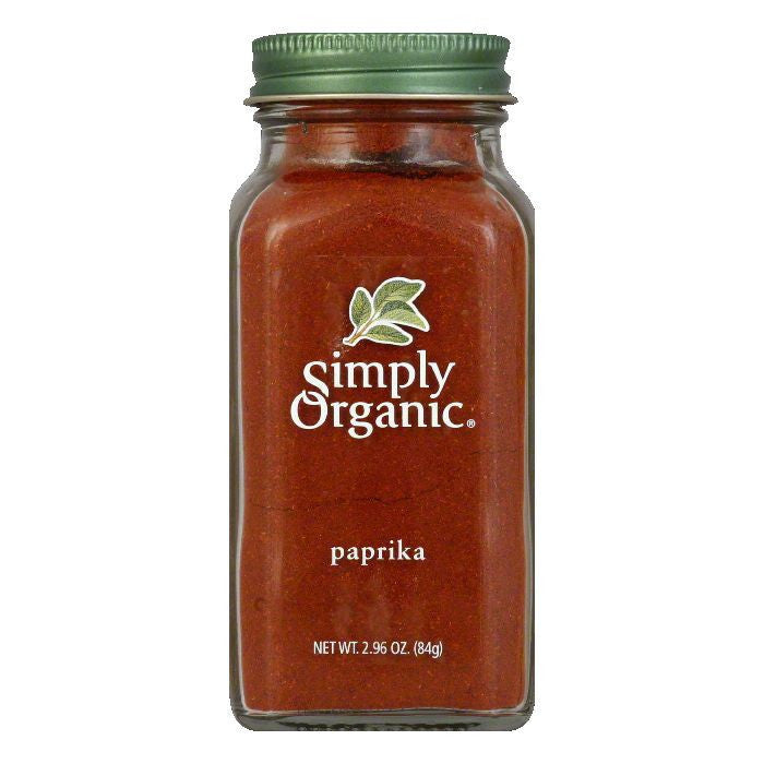 Simply Organic Paprika Ground Organic, 2.96 OZ (Pack of 6)