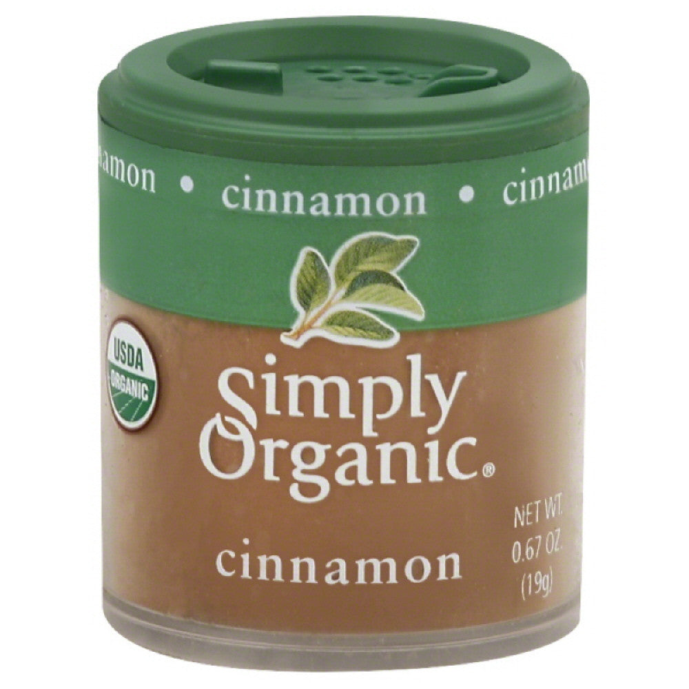 Simply Organic Cinnamon , 0.67 Oz (Pack of 6)