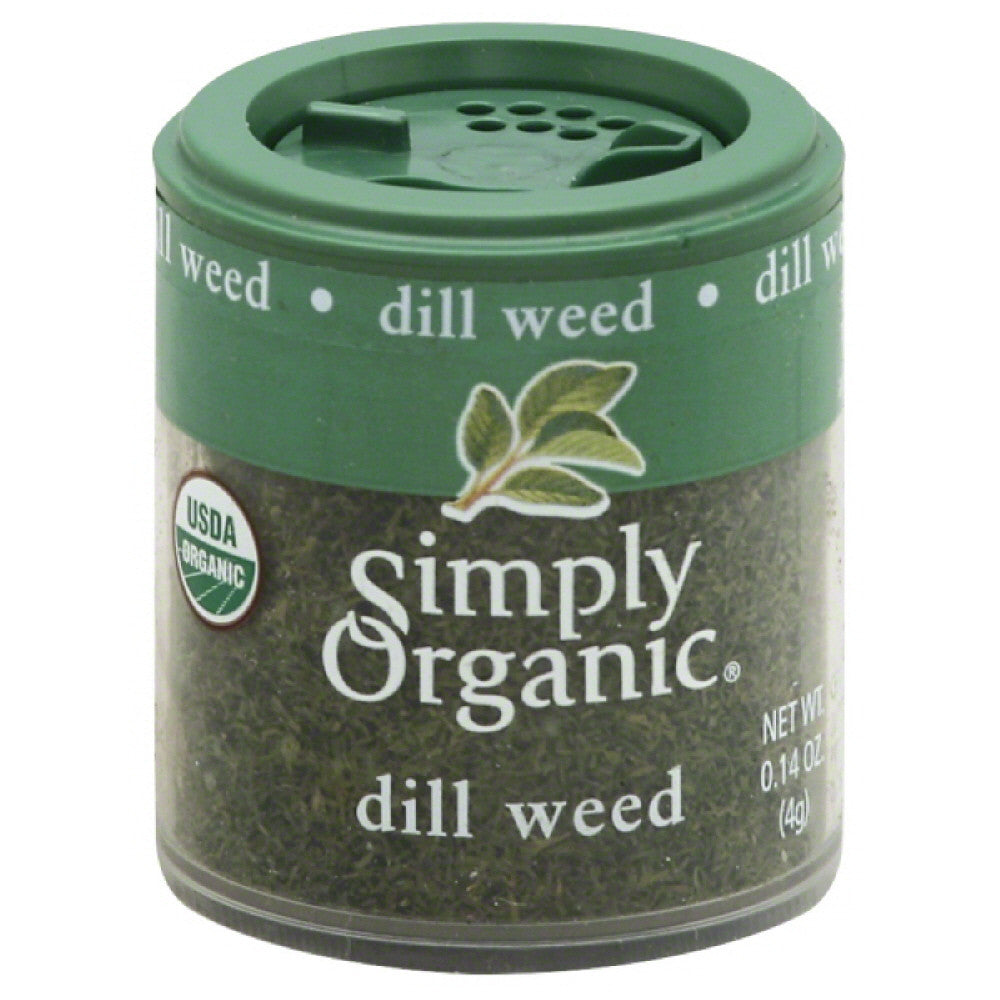 Simply Organic Dill Weed, 0.14 Oz (Pack of 6)