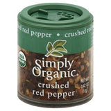 Simply Organic Crushed Red Pepper, 0.42 Oz (Pack of 6)
