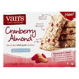 Vans Cranberry Almond Whole Grain Chewy Baked Snack Bars, 5 ea (Pack of 6)