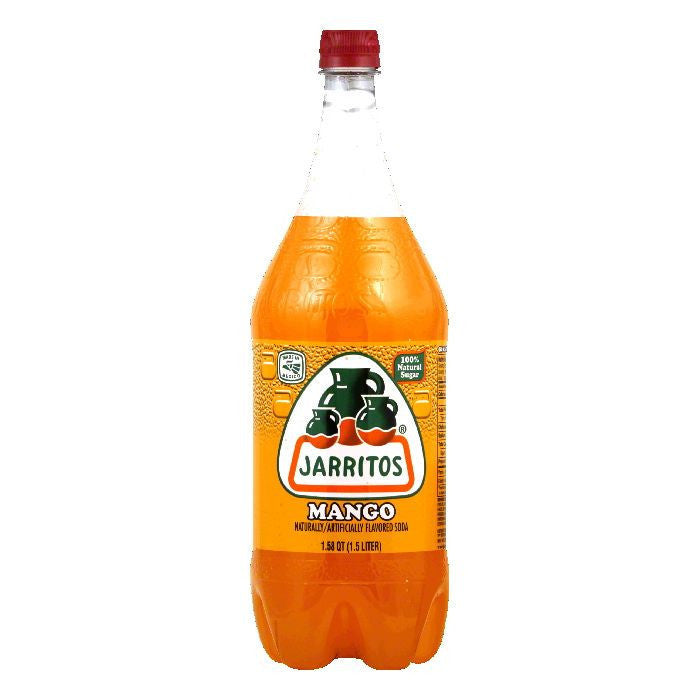 Jarritos Mango, 1.5 LT (Pack of 8)