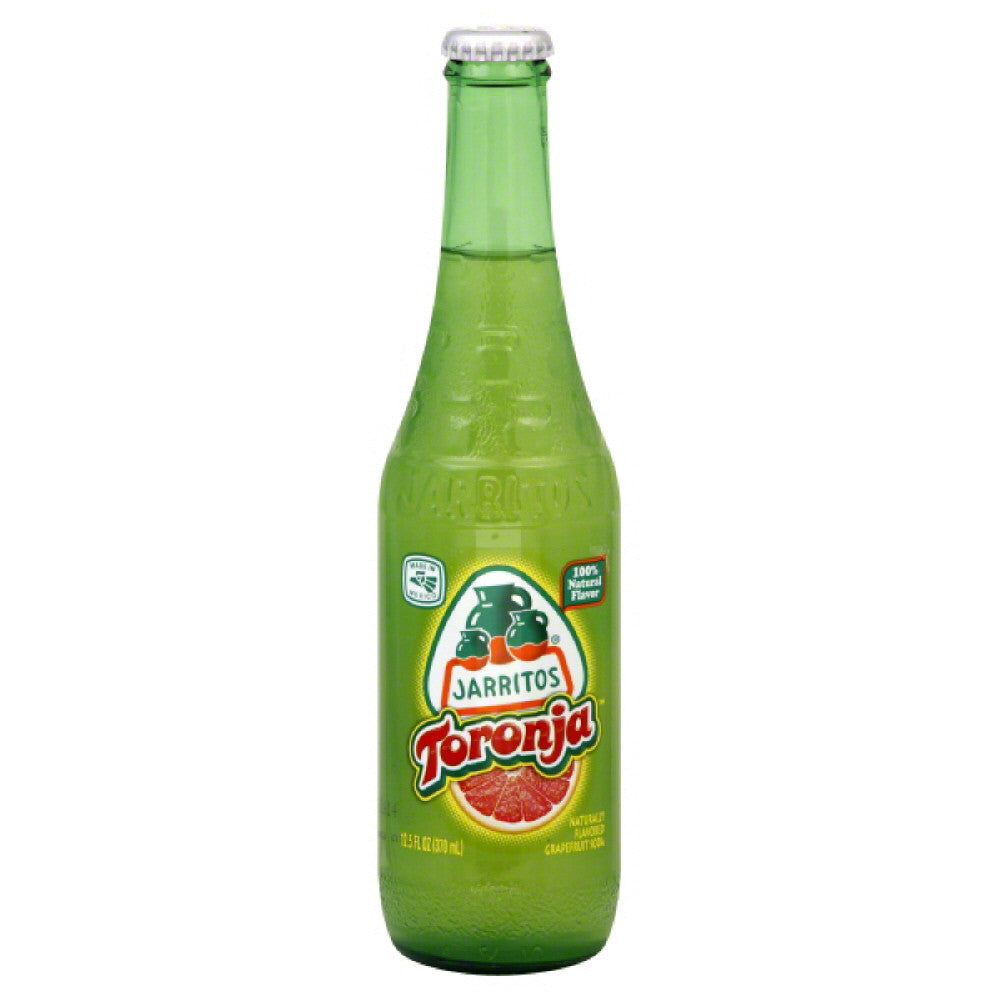 Jarritos Toronja Soda, 12.5 Oz (Pack of 24)