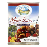 Olde Cape Cod Minestrone Ready to Serve Soup, 19 OZ (Pack of 12)