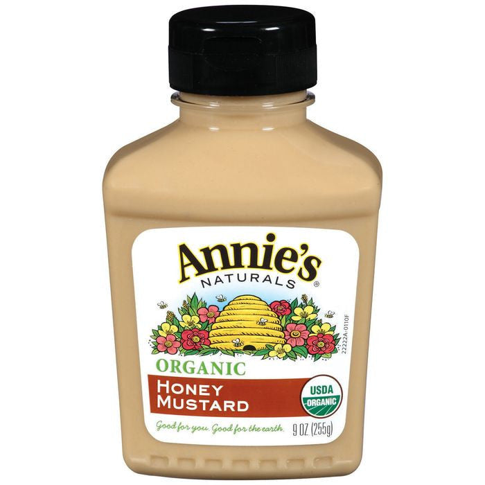 Annie's Naturals Organic Honey Mustard 9 Oz  (Pack of 12)