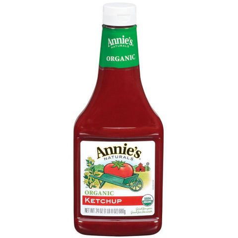 Annie's Naturals Organic Ketchup 24 Oz  (Pack of 12)