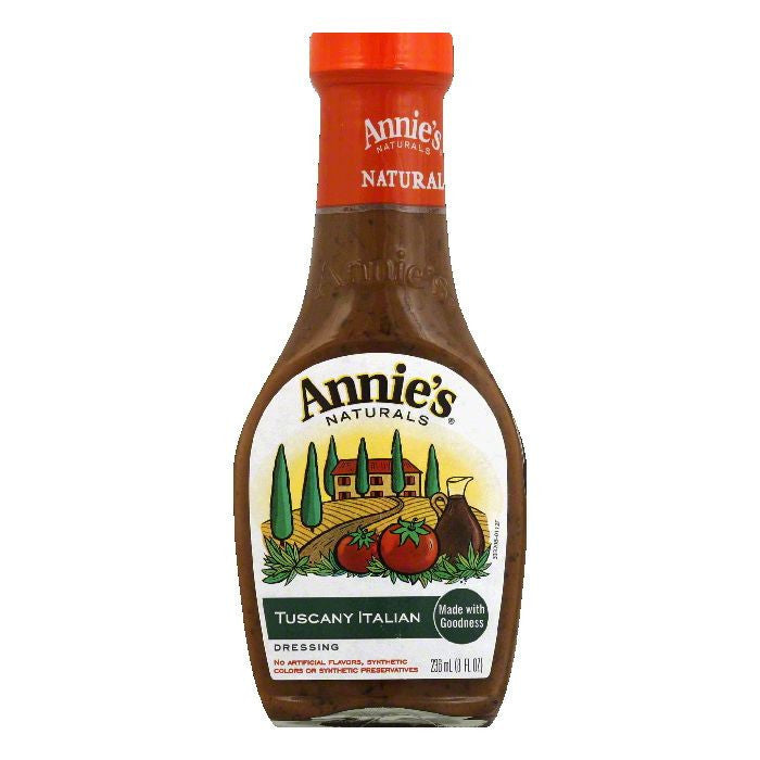 Annies Dressing Tuscany Italian, 8 OZ (Pack of 6)