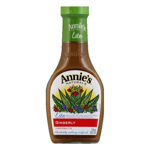 Annies Dressing Gingerly Vinaigrette, 8 FO (Pack of 6)