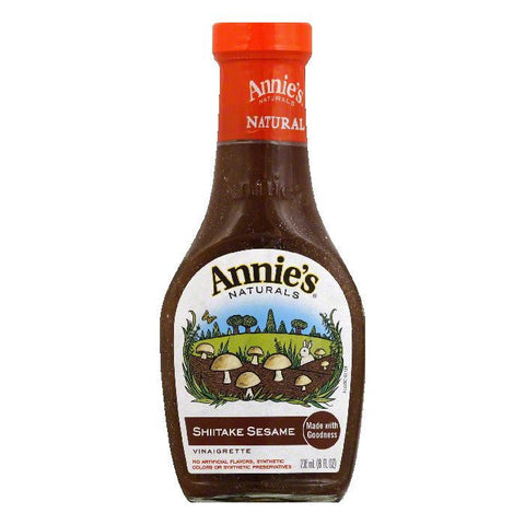 Annies Dressing Shiitake Sesame, 8 OZ (Pack of 6)