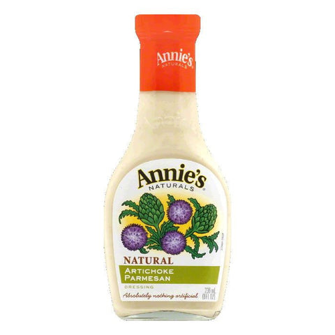 Annies Artichoke Parmesan Dressing, 8 OZ (Pack of 6)