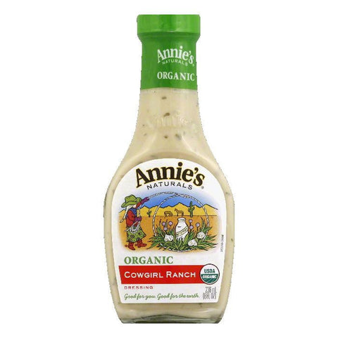 Annies Organic Cowgirl Ranch Dressing, 8 OZ (Pack of 6)