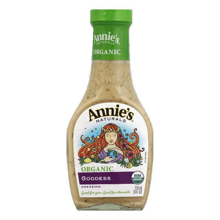 Annies Dressing Organic Goddess, 6 OZ (Pack of 6)