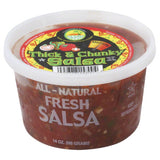 Oasis Medium Thick & Chunky Fresh Salsa, 14 Oz (Pack of 6)