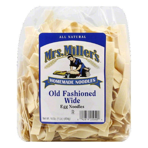 Mrs. Miller's Old Fashioned Wide Noodles, 16 OZ (Pack of 6)