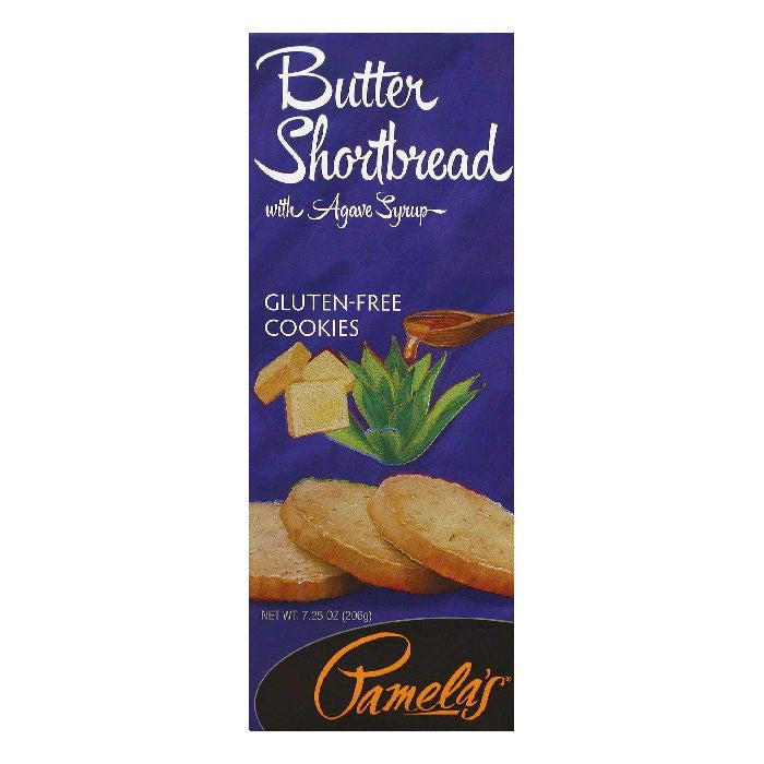 Pamelas Butter Shortbread Cookies, 7.25 OZ (Pack of 6)