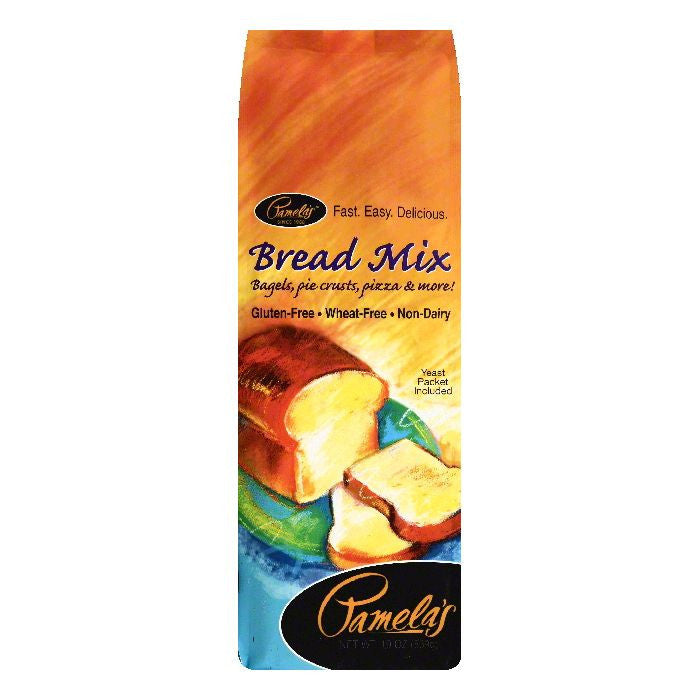Pamelas Bread Mix, 19 OZ (Pack of 6)
