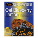 Pamelas Oat Blueberry Lemon Whenever Bars, 7.05 Oz (Pack of 6)