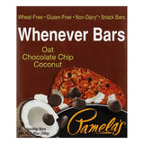 Pamelas Oat Chocolate Chip Coconut Whenever Bars, 7.05 Oz (Pack of 6)