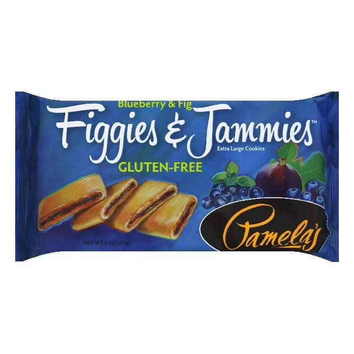 Pamelas Blueberry & Fig Extra Large Cookies, 9 Oz (Pack of 6)