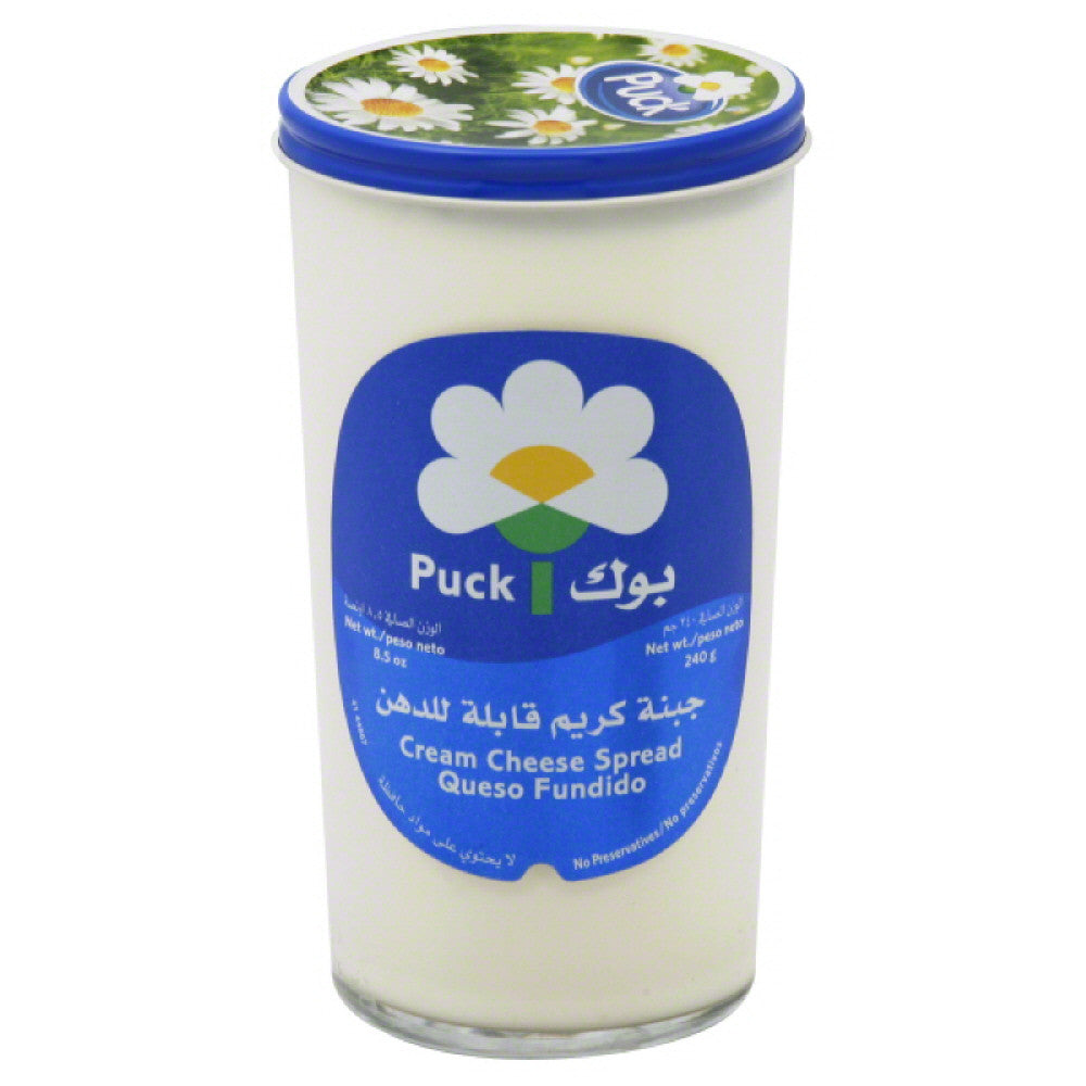 Puck Cream Cheese Spread, 8.5 Oz (Pack of 6)