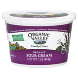 Organic Valley Organic Sour Cream, 16 Oz (Pack of 6)